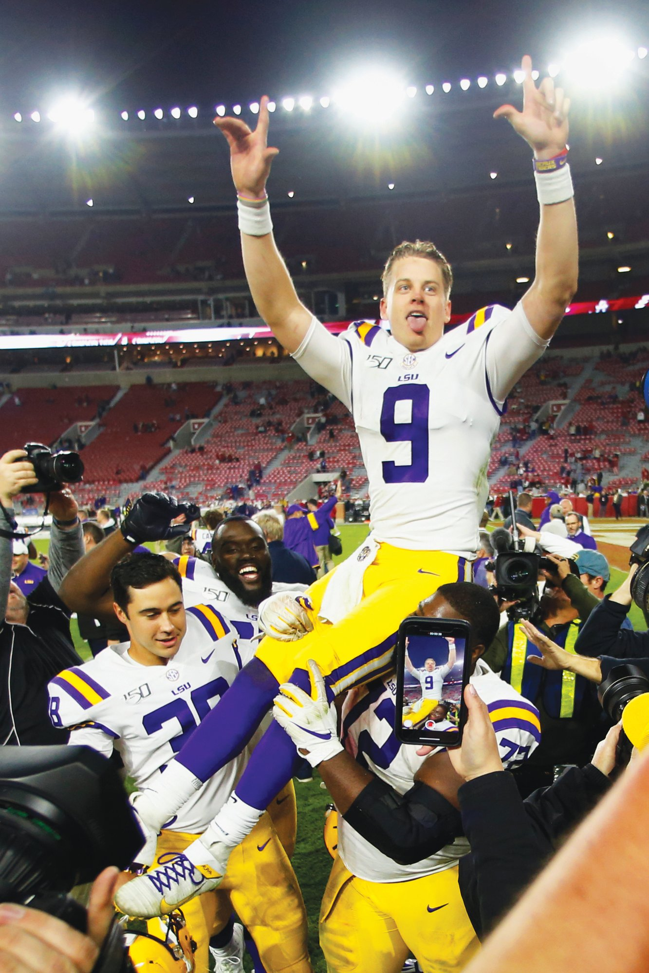 Clemson jumps up to third in CFP Poll, LSU takes top spot | The Sumter Item