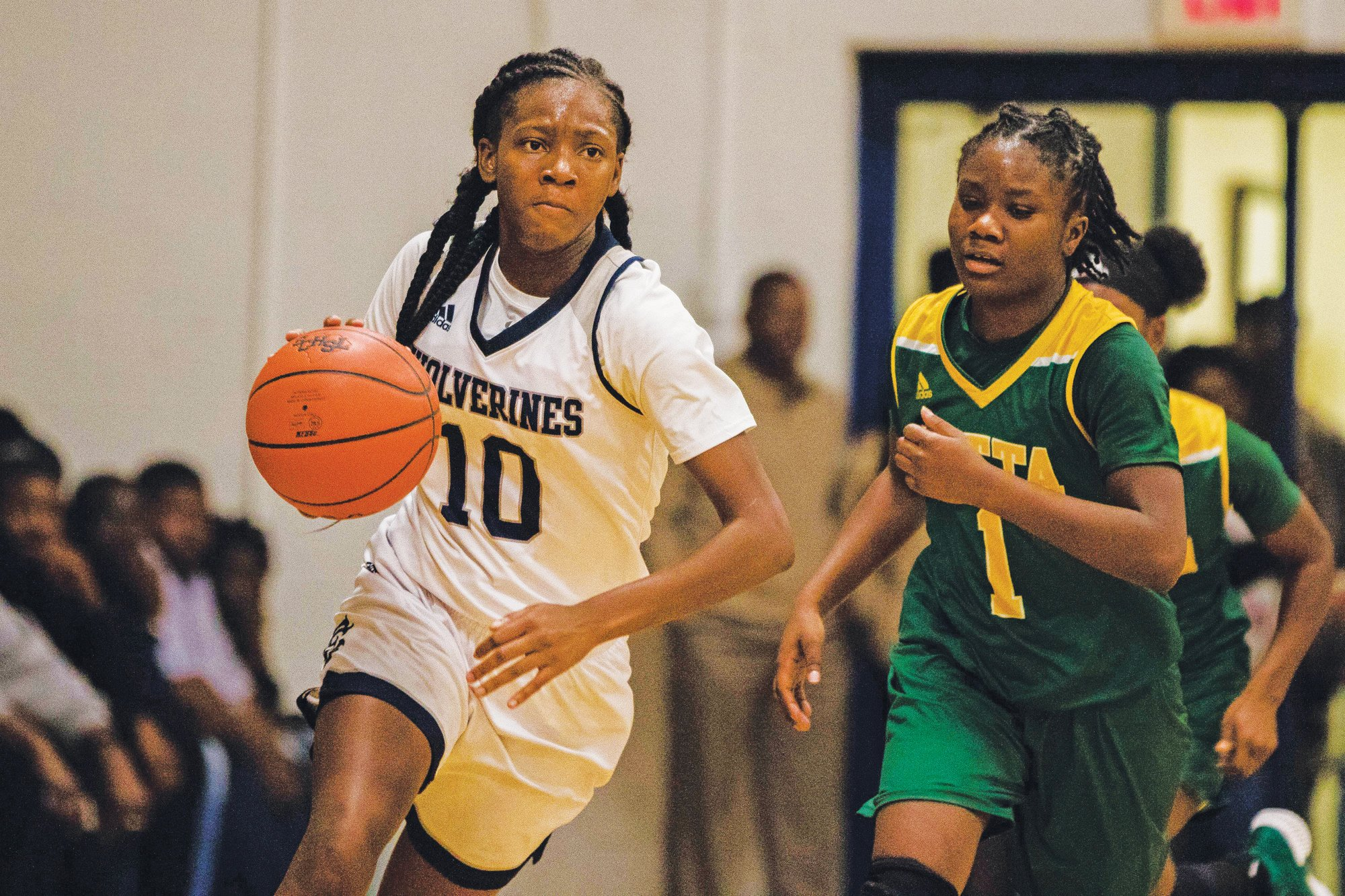 East Clarendon sophomore Talaysia Cooper (10) has been selected as one of the Elite Girls basketball players in the state for the 2019-20 season by the South Carolina Basketball Coaches Association.