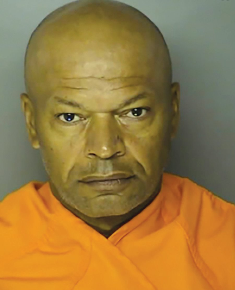 "This booking photo provided by Horry County shows Giles Daniel Warrick.   Warrick accused in a series of rapes on the East Coast in the 1990s that led to the suspect being nicknamed the ""Potomac River Rapist?? has been arrested in South Carolina.  Warrick is being held without bond in a Horry County jail. He's accused of raping 10 women and killing one of them between 1991 and 1998. (Horry County via AP)"