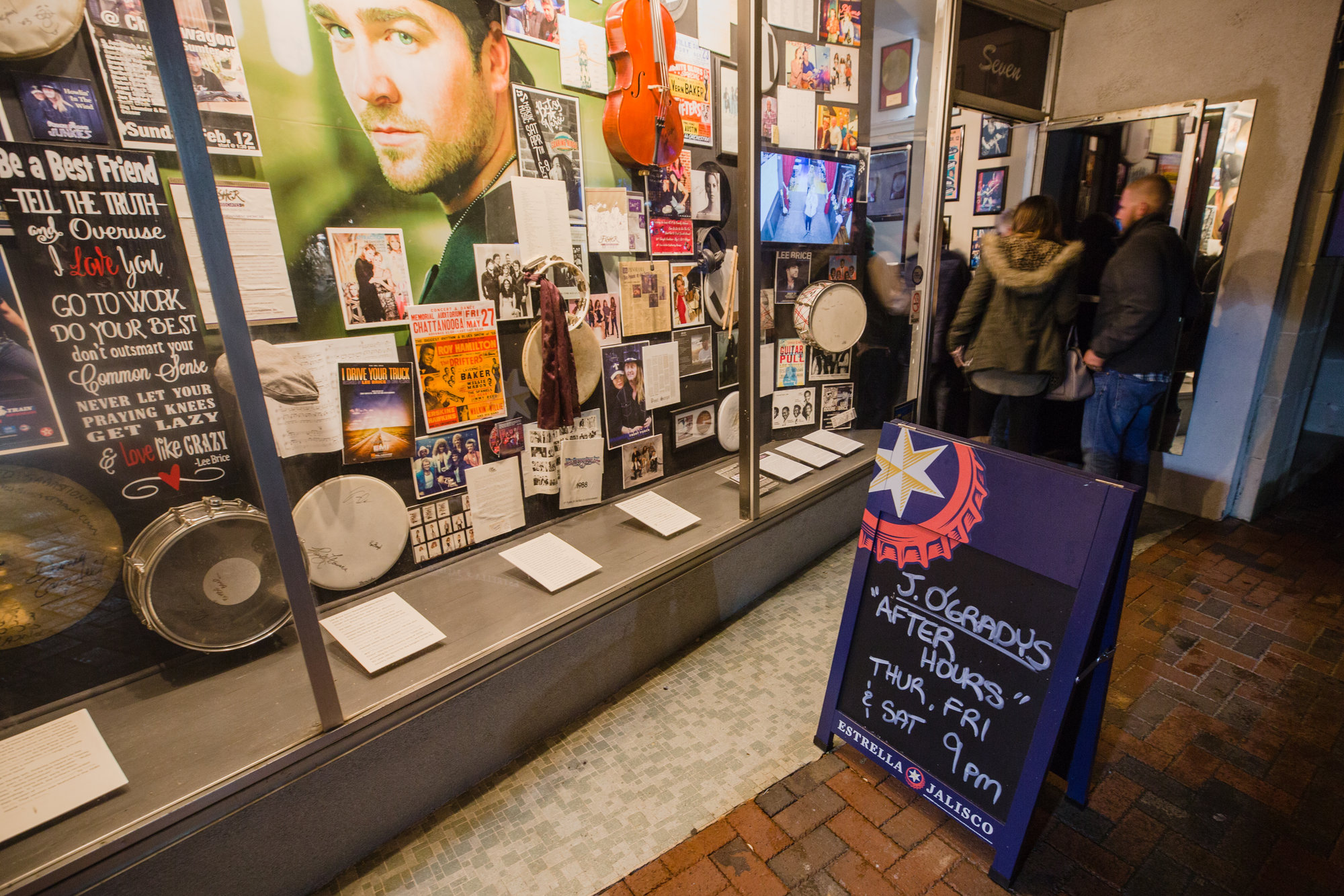 "The décor inside is an unofficial ""Sumter Music Hall of Fame,"" a tribute to local musicians and singers."