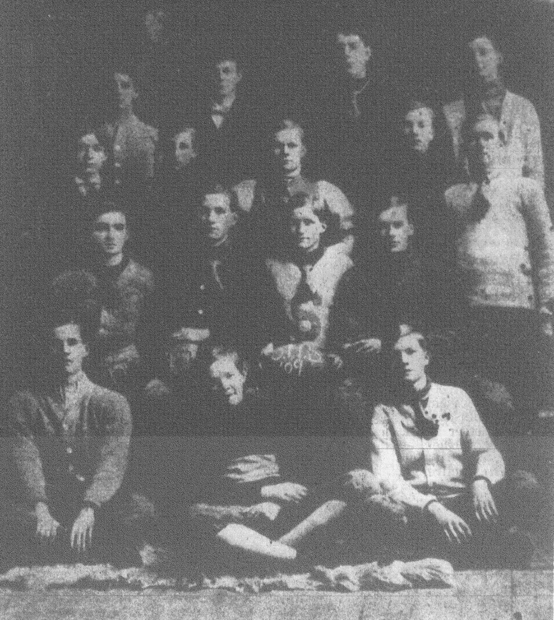 This is the undefeated Sumter High School football team of 1909. Members on the bottom row from left are Hammond Bowman, Harry Walsh, Dick Hood. Second row from left are Fred Nigels, Harry Davis, Nobel Dick and R.T. Brown. Third row are Kinard, Cliff Moise, Julius Cooper, Daniel Brown and William Marshall. Top row are Bob Haynsworth, Caper Smith, Willie Burns and William Brogdon.