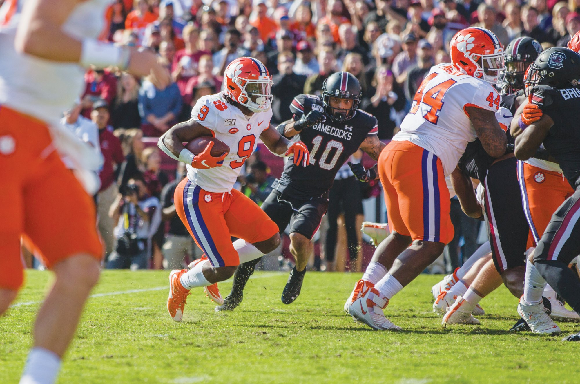 16 Clemson Players Picked To All Acc Football Teams The