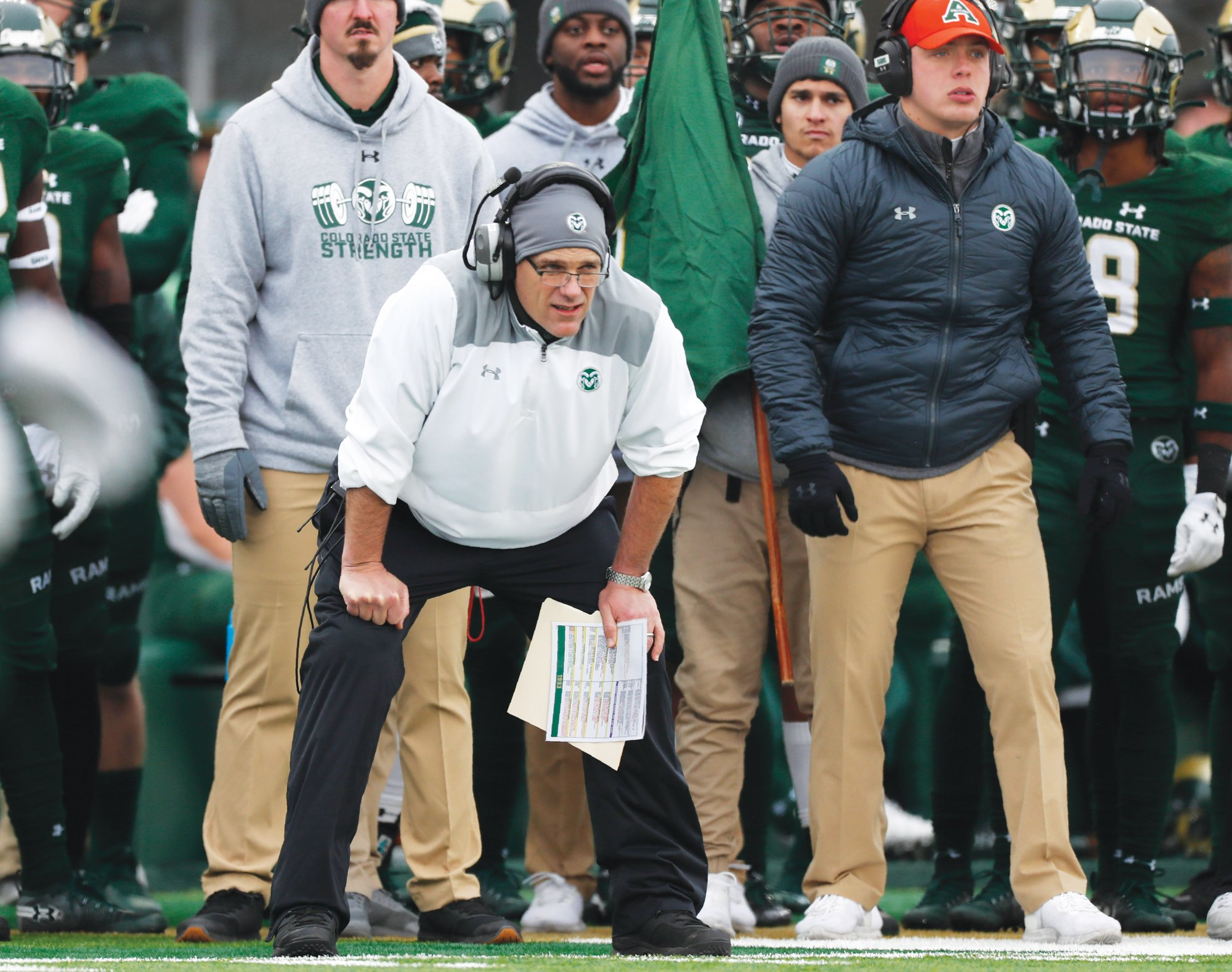 Former Colorado State head coach Mike Bobo was officially announced as South Carolina's offensive coordinator on Tuesday.