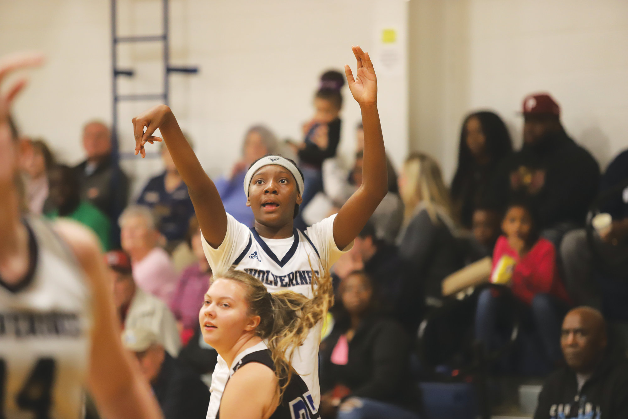 East Clarendon's Talaysia Cooper, center, will look to lead the Lady Wolverines on another deep postseason run this year after the team made it to the Final Four in 2A last season.