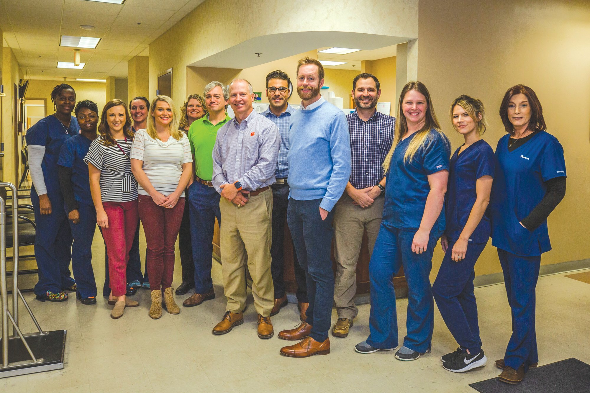 Colonial Healthcare originally started as Lowder Family Practice in 1996. The practice now has about 331 total employees at 12 current facilities in Sumter and Manning.