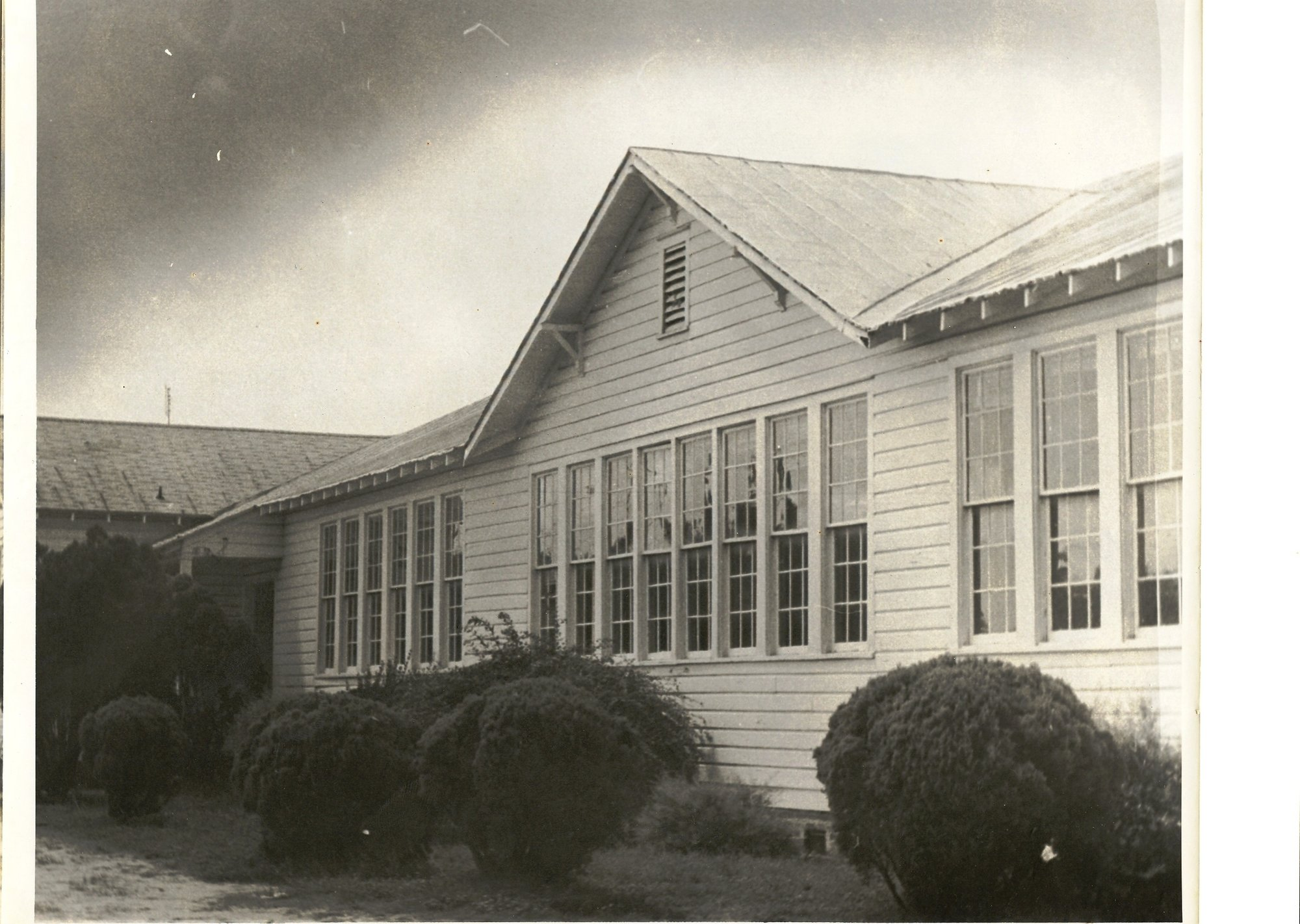 Stone Hill Elementary School served the African-American community in Shannontown beginning in 1920.