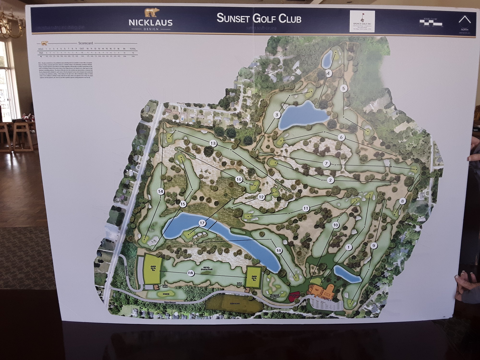 Golf course renderings were completed by Jack Nicklaus II and Kris Spence Golf Design.