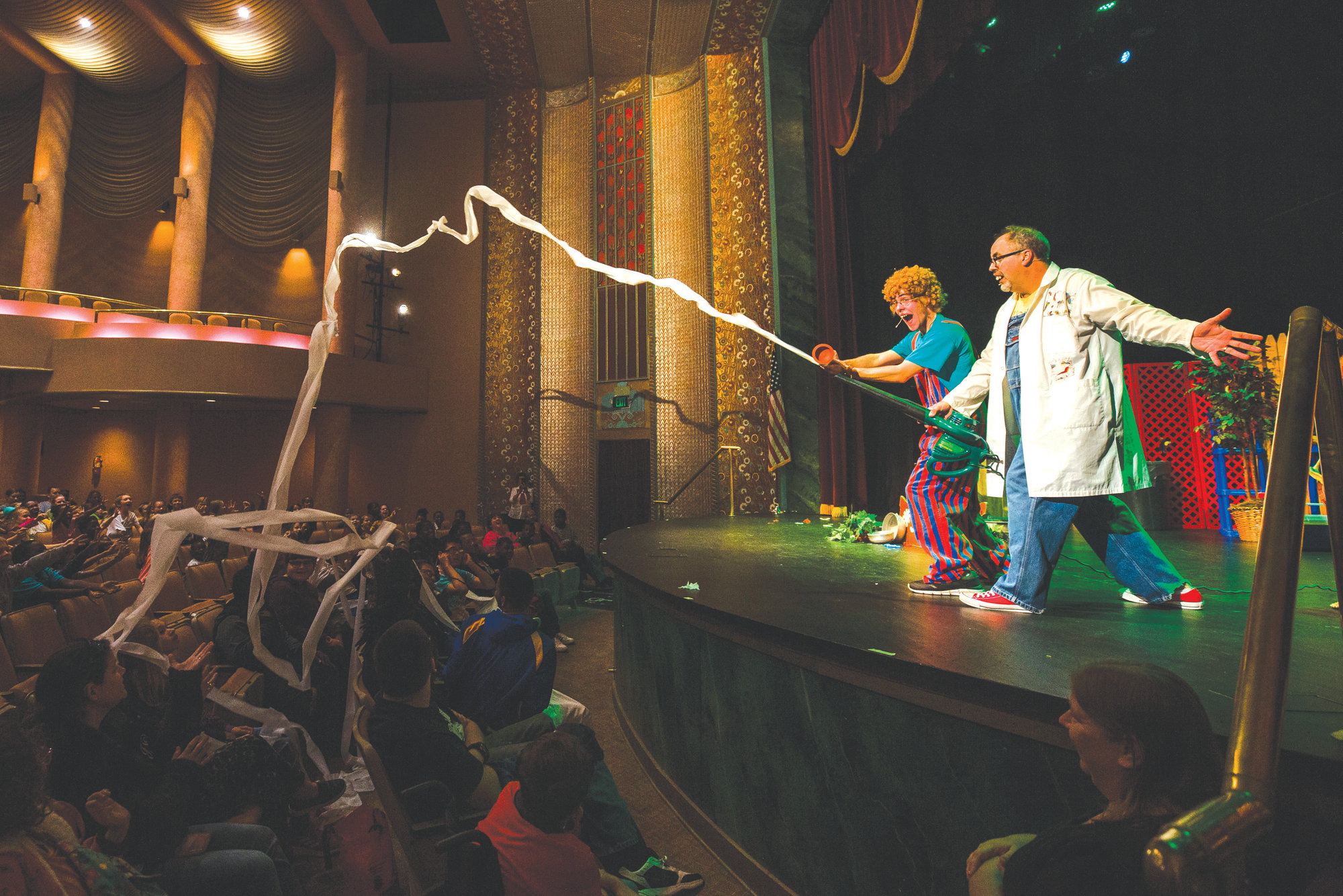 The Hillbilly Science show drew a large crowd at the Opera House last year.