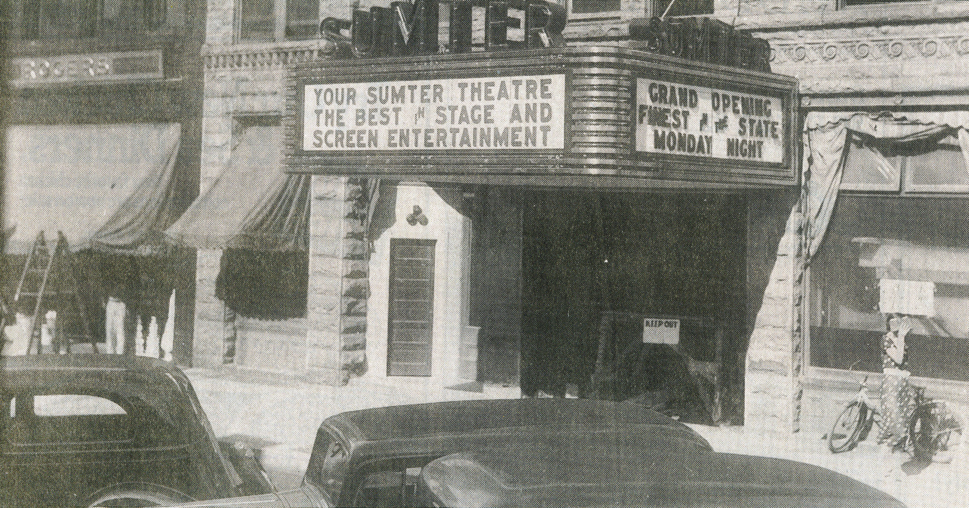Sumter Opera House opened Aug. 31, 1936, as The Sumter Theatre, one of the finest movie theaters in the South. The Sumter Opera House is celebrating its 125th year this year.