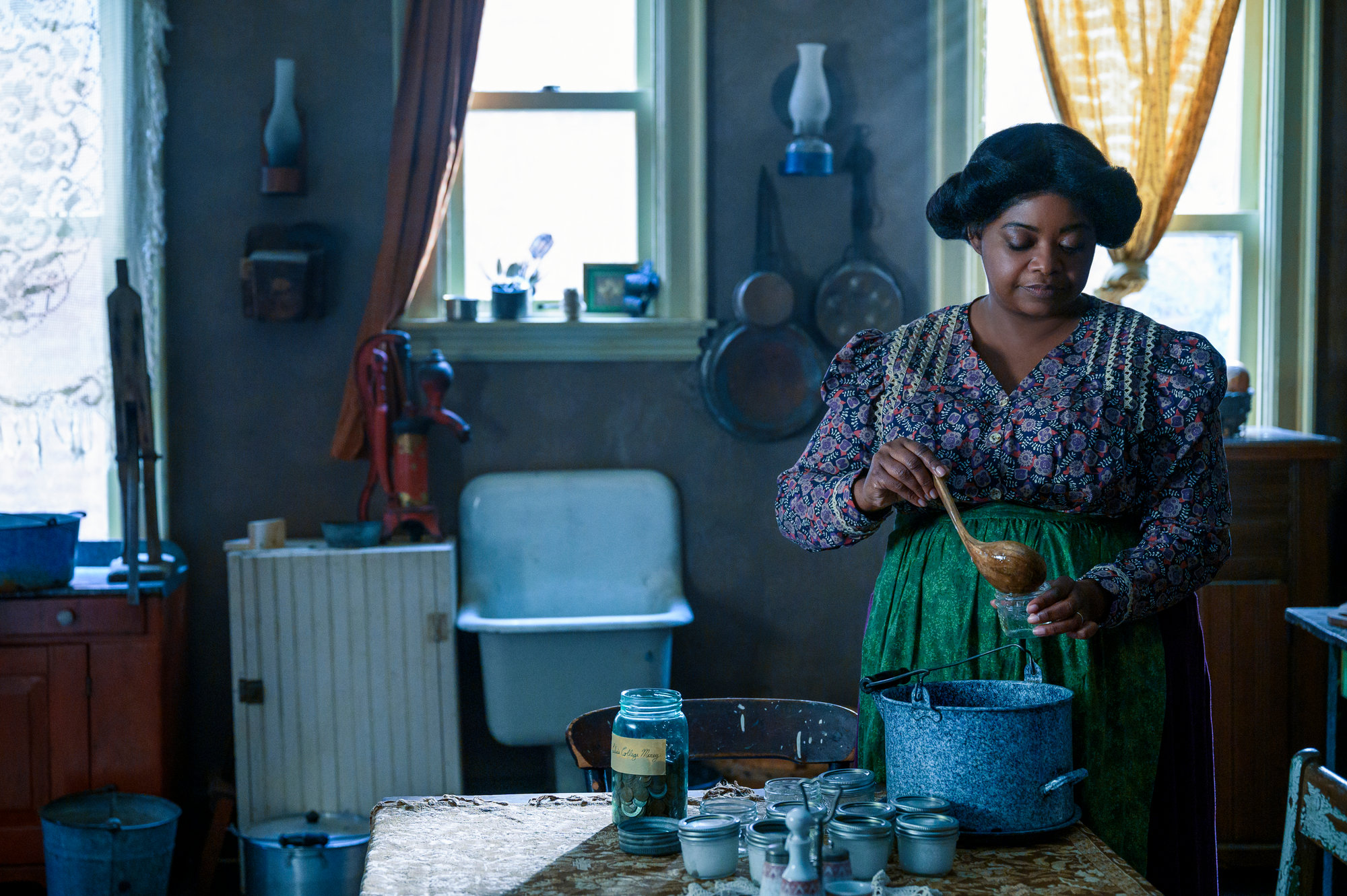 "Octavia Spencer stars in the four-part series ""Self Made: Inspired by the Life of Madam C.J. Walker,"" now streaming on Netflix."