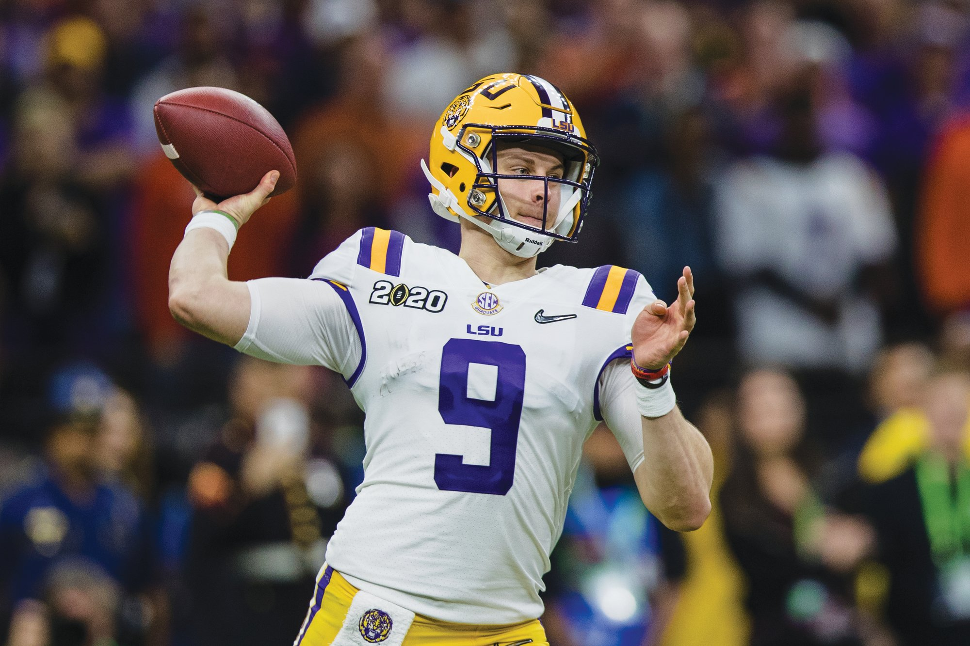 LSU quarterback Joe Burrow is expected to be selected by the Cincinnati Bengals as the No. 1 overall pick in the NFL draft which begins on Thursday.