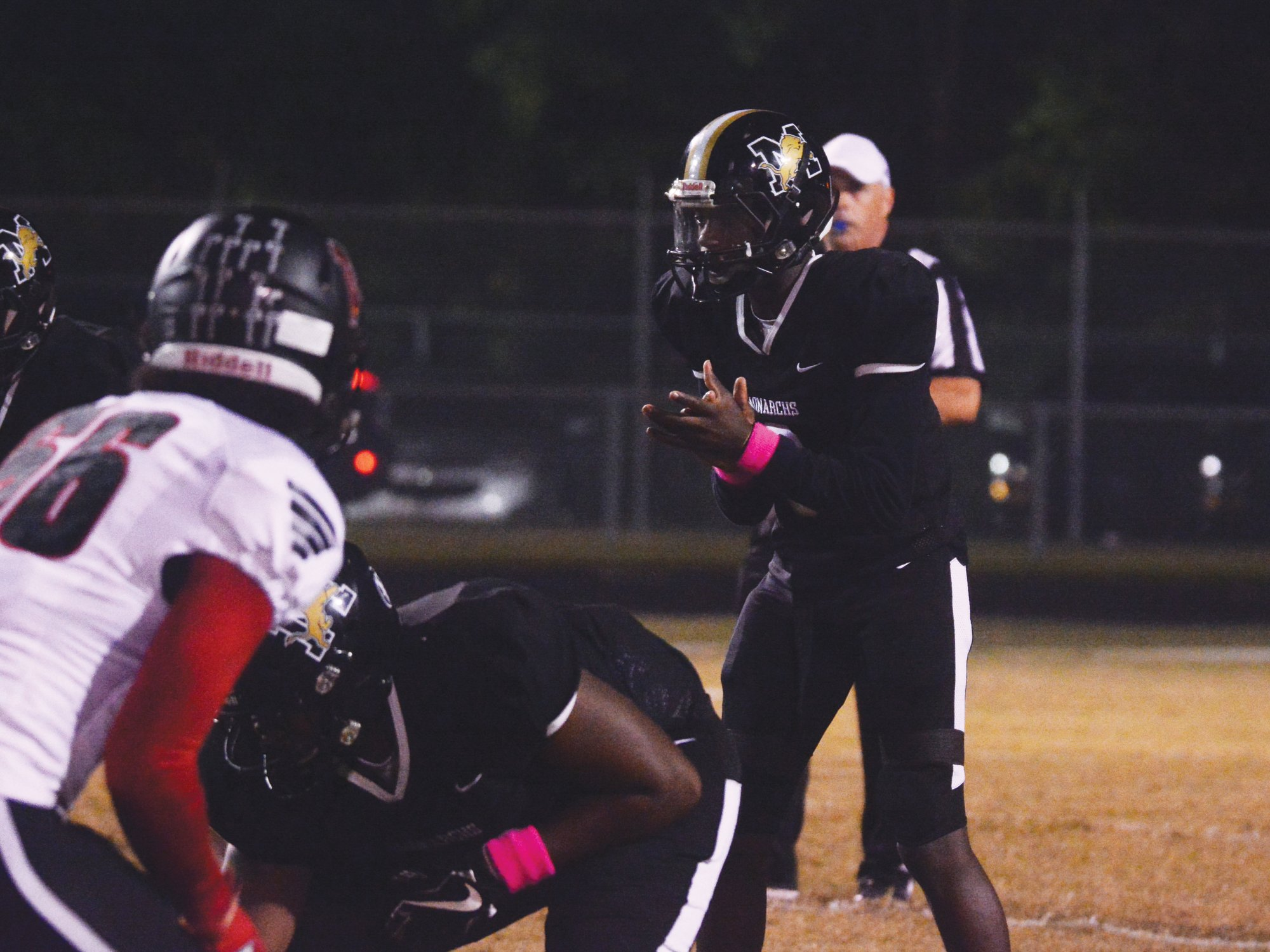 Manning quarterback Justin Daniels and the Monarchs will join Sumter County schools Lakewood and Crestwood in Region VI-3A starting this fall.
