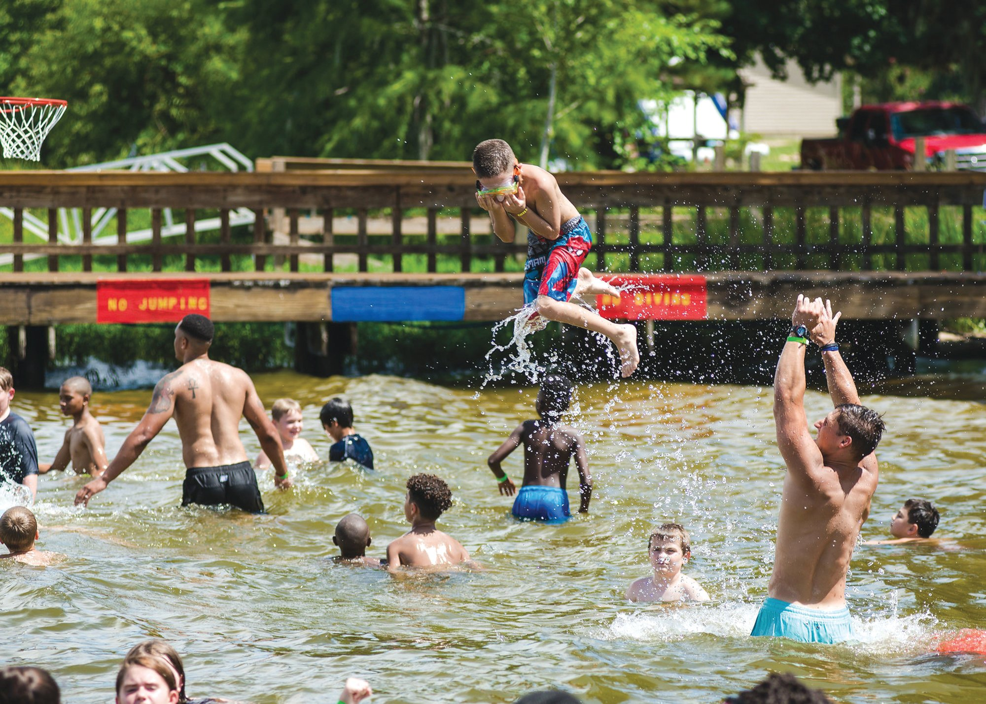 Although Camp Happy Days has been postponed for 2020, the camp organizers hope to hold the weeklong event later in the summer or early fall.