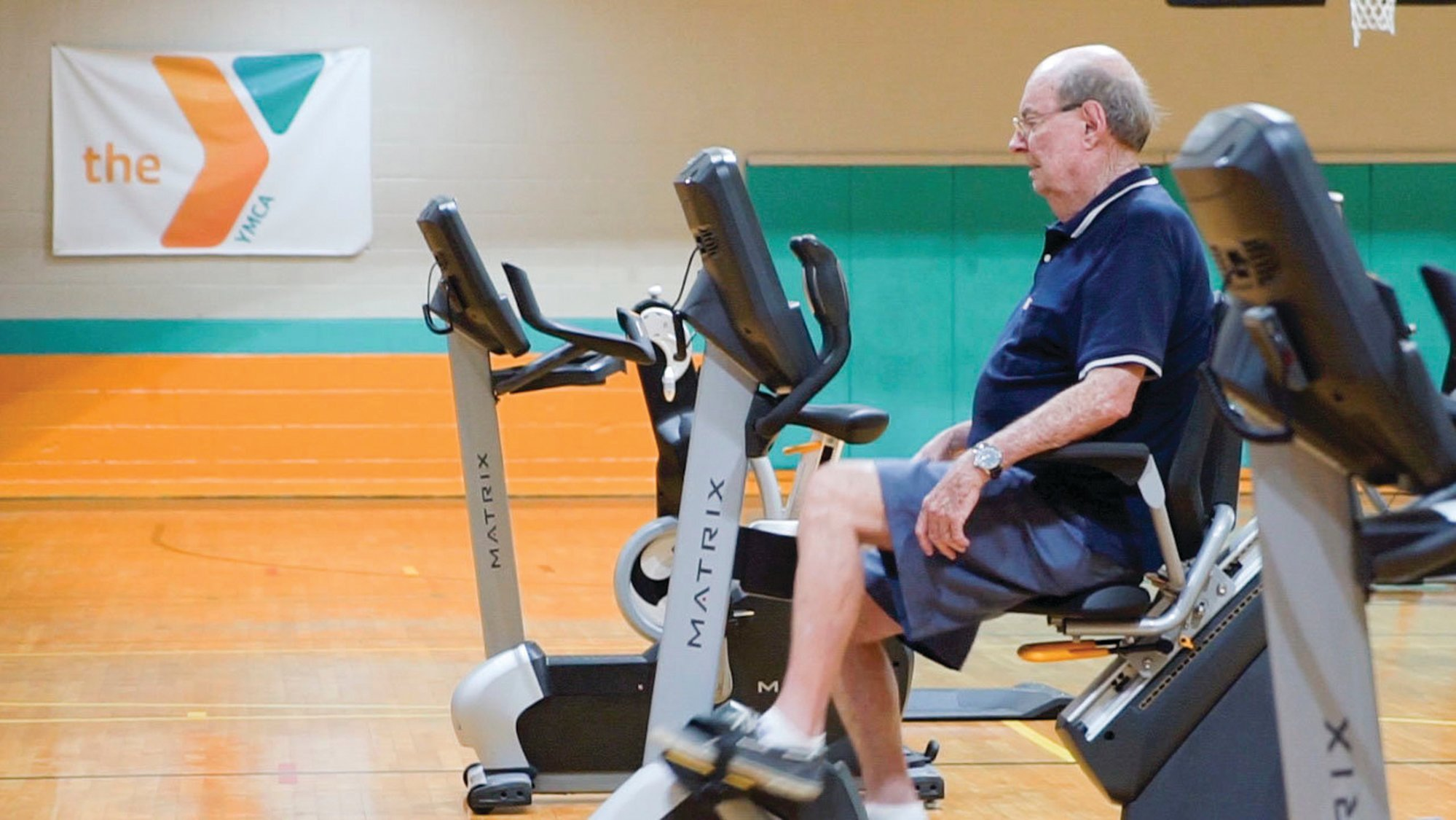 The Sumter YMCA reopened to members on Monday, with group class participants given their own floor space marked with tape, machines spaced farther apart and locker rooms remaining closed for now. It was shut down because of the coronavirus April 1.
