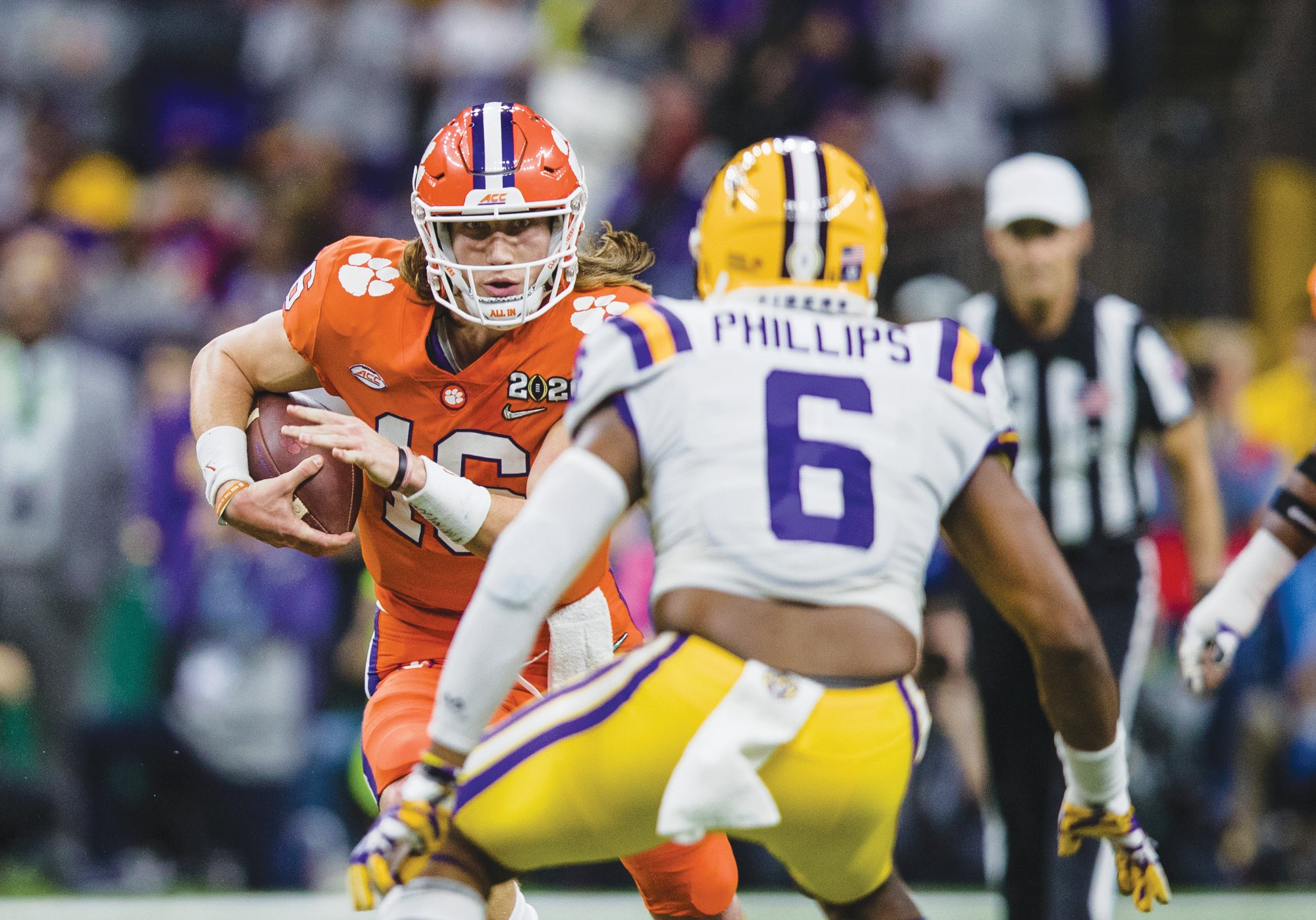 Clemson quarterback Trevor Lawrence (16) and his Tiger teammates will be able to return to campus for voluntary team activities on June 8.