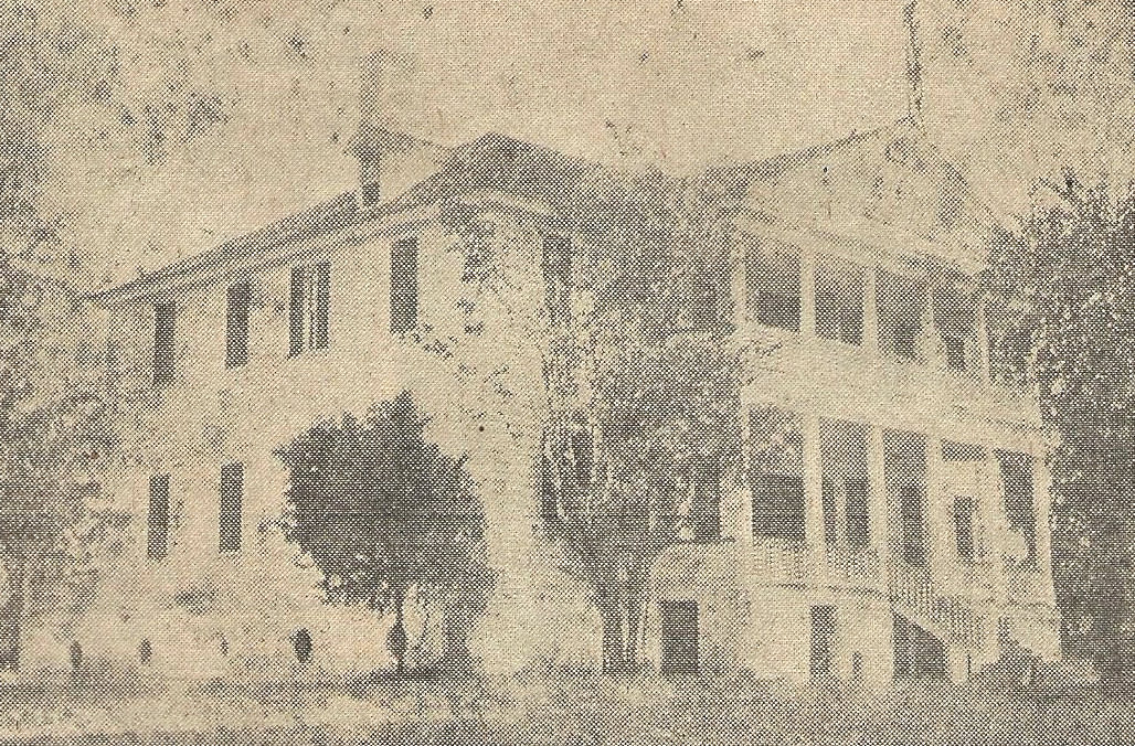 The Acton house, one of the first homes in the area to host a school, was the site of Gen. Sumter Academy.