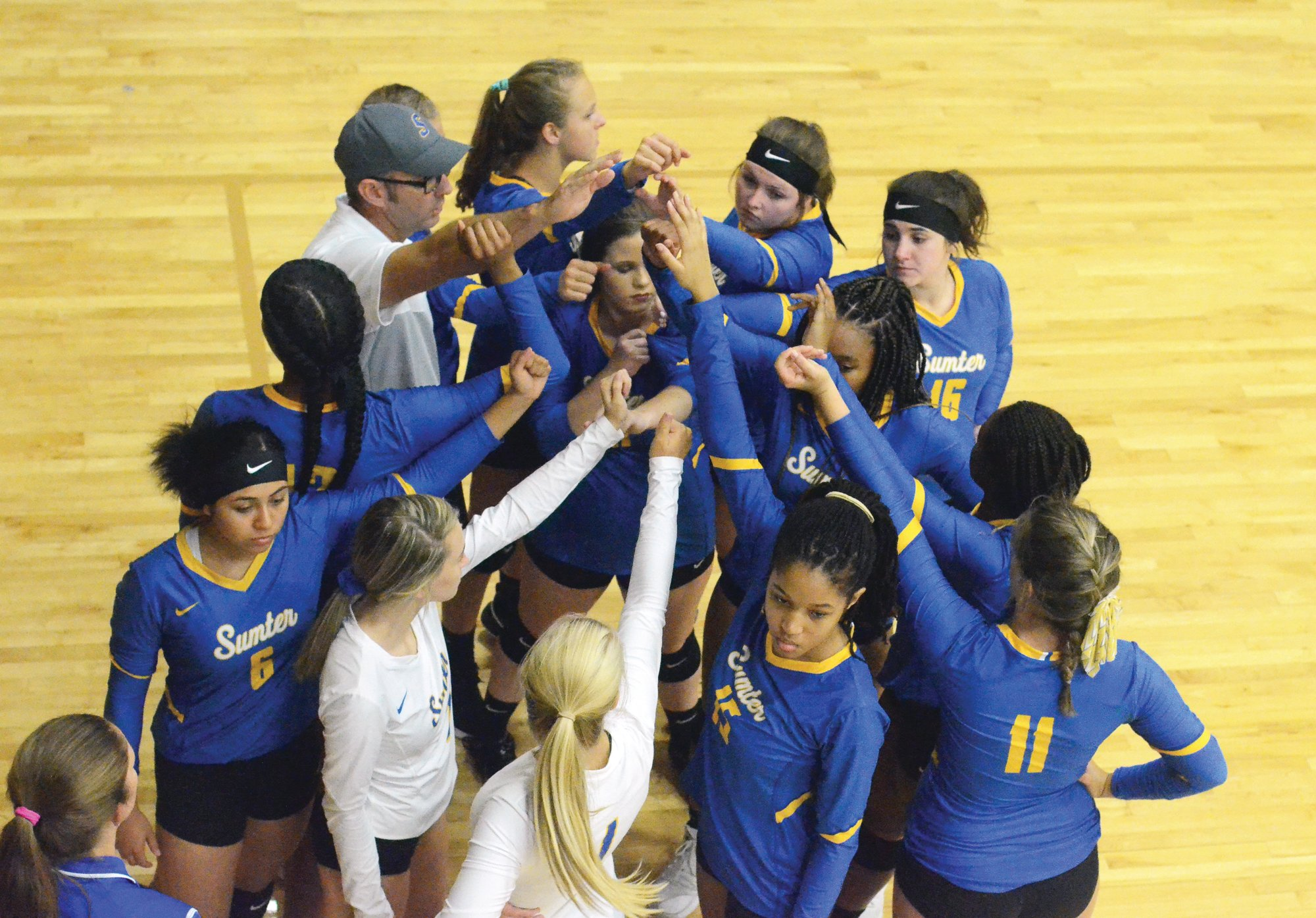 The Sumter High School volleyball team is one of many fall sports teams in Sumter School District still waiting to hear for a start date for summer workouts after the South Carolina High School League allowed schools to return from the coronavirus pandemic at the beginning of last month.