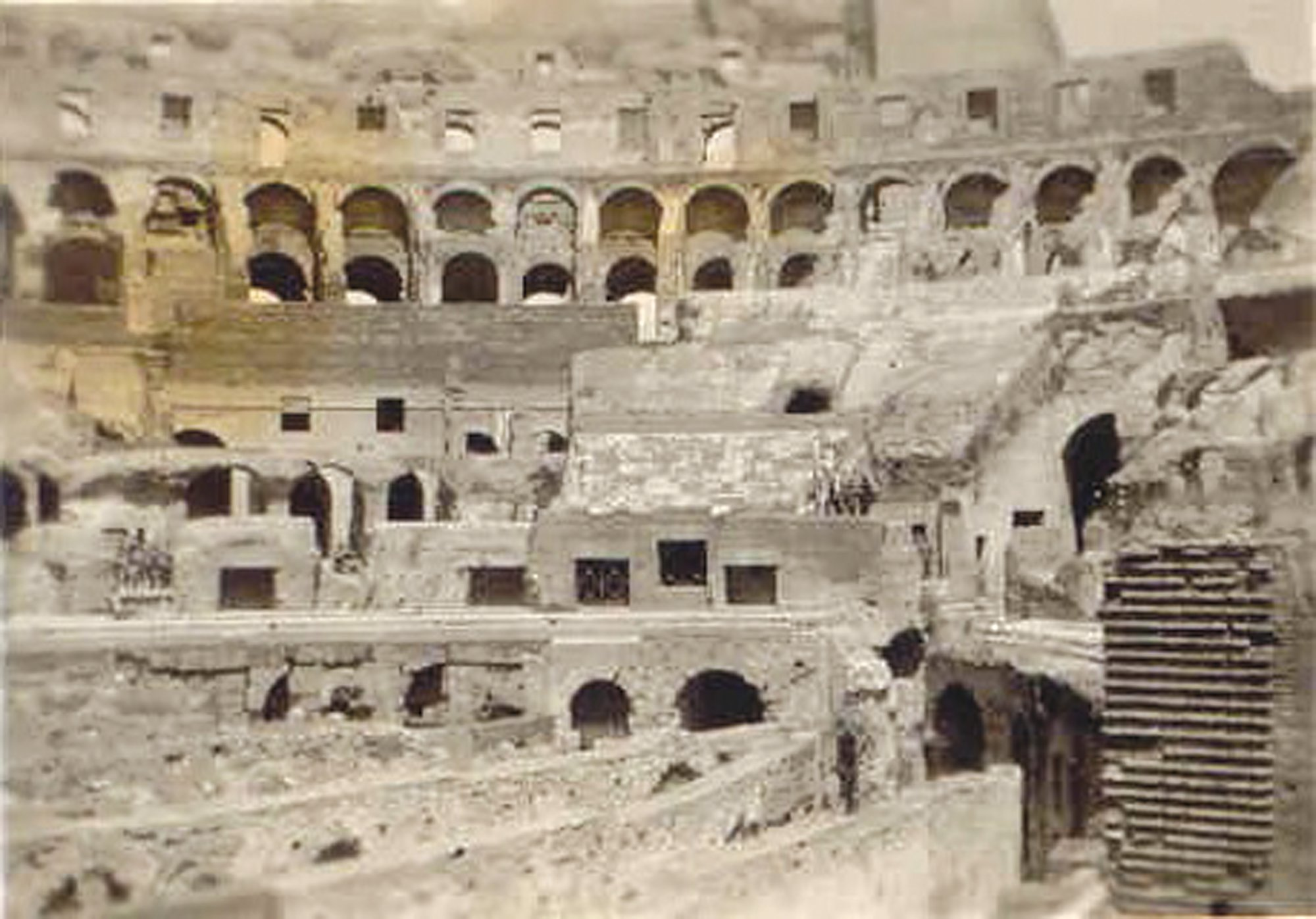 The 178th visited the Roman Colosseum.