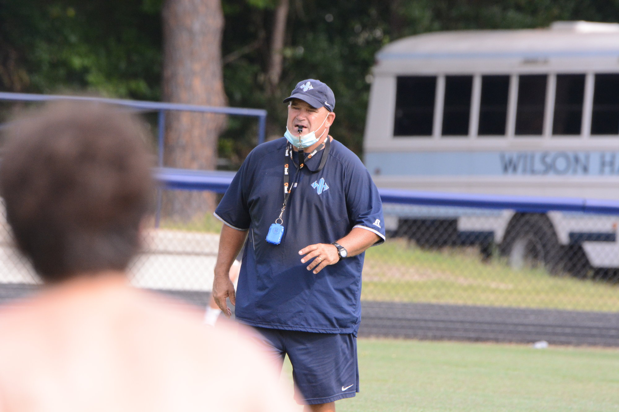 Wilson Hall head coach Adam Jarecki has no issues with SCISA electing to push back the start of football season one week.