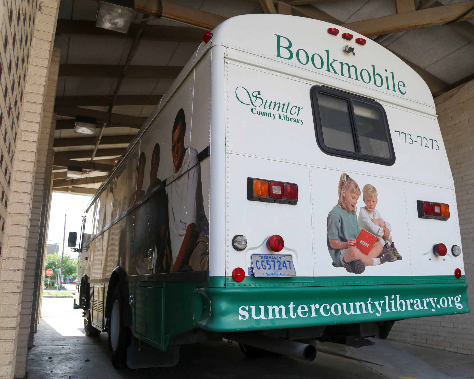 The Sumter County Library Bookmobile can bring materials to people who don't have easy access to library branches.