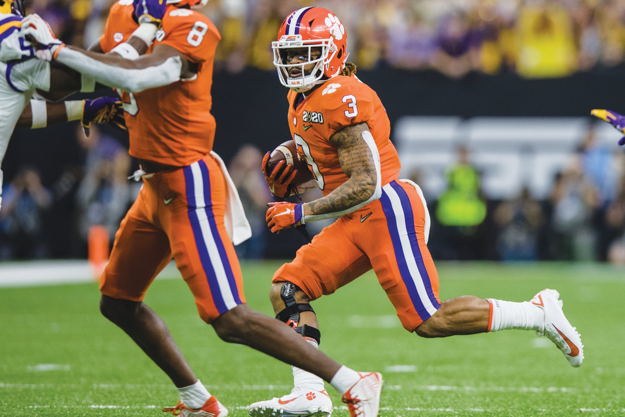 Clemson wide receiver Amari Rodgers the Tigers will travel to Notre Dame on Nov. 7 as part of their schedule released by the Atlantic Coast Conference on Thursday.
