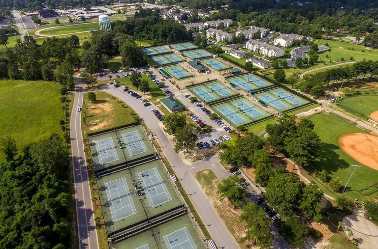 The Palmetto Tennis Center in Sumter hosts more than a dozen tournaments each year. The complex is undergoing renovations to add clay courts in hopes of attracting more tourists and players from around the region. The project is funded with a $2 million 'hidden' earmark from lawmakers in the state budget.