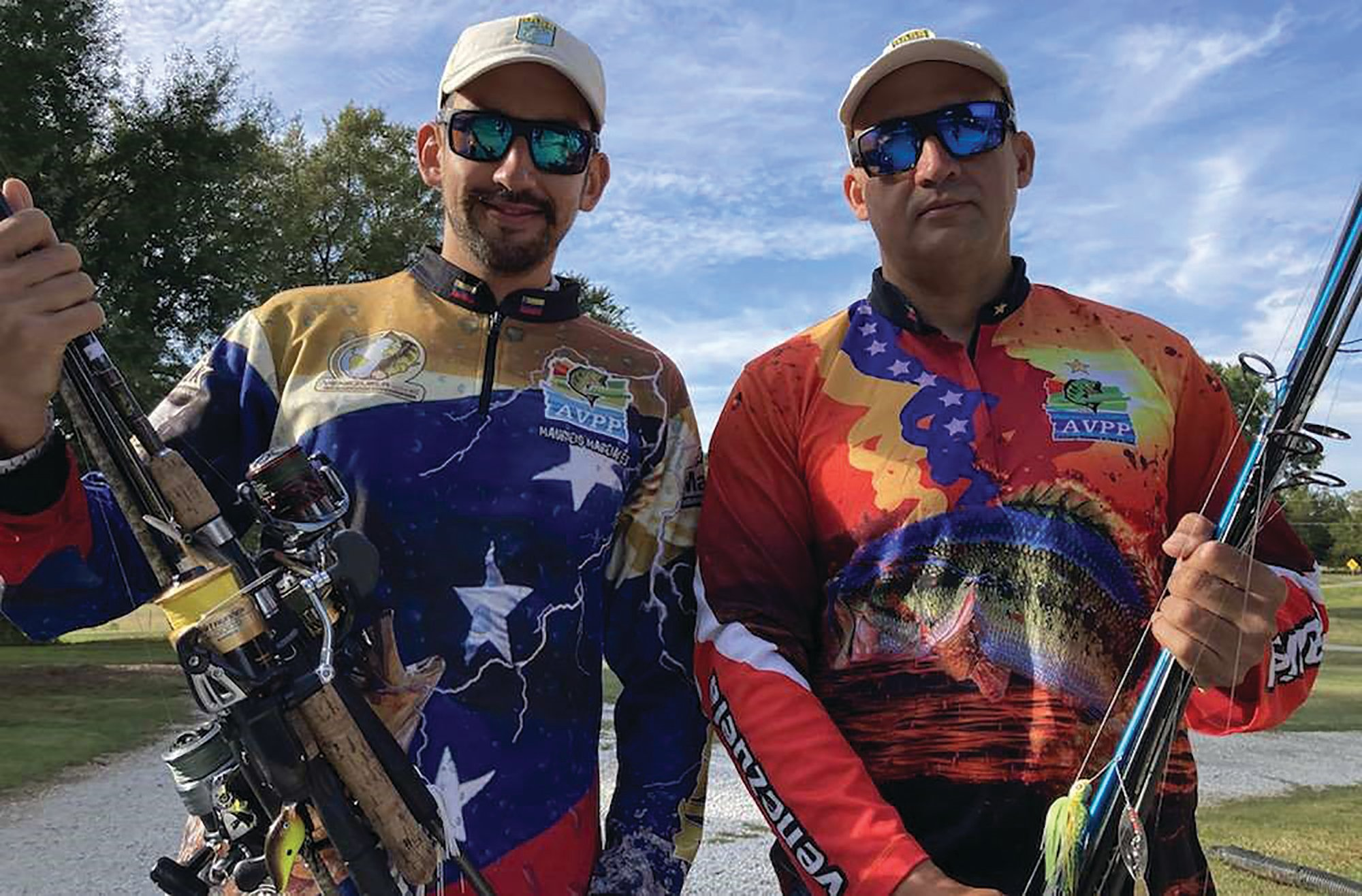 PHOTO PROVIDED BY B.A.S.S. Venezuelan anglers Daniel Vaidis and Mauricio Marciales were visiting family in Florida when their country closed for re-entry due to COVID-19. The anglers used this opportunity to fulfill a dream of competing in this week's Basspro.com Bassmaster Eastern Open at Lake Hartwell.