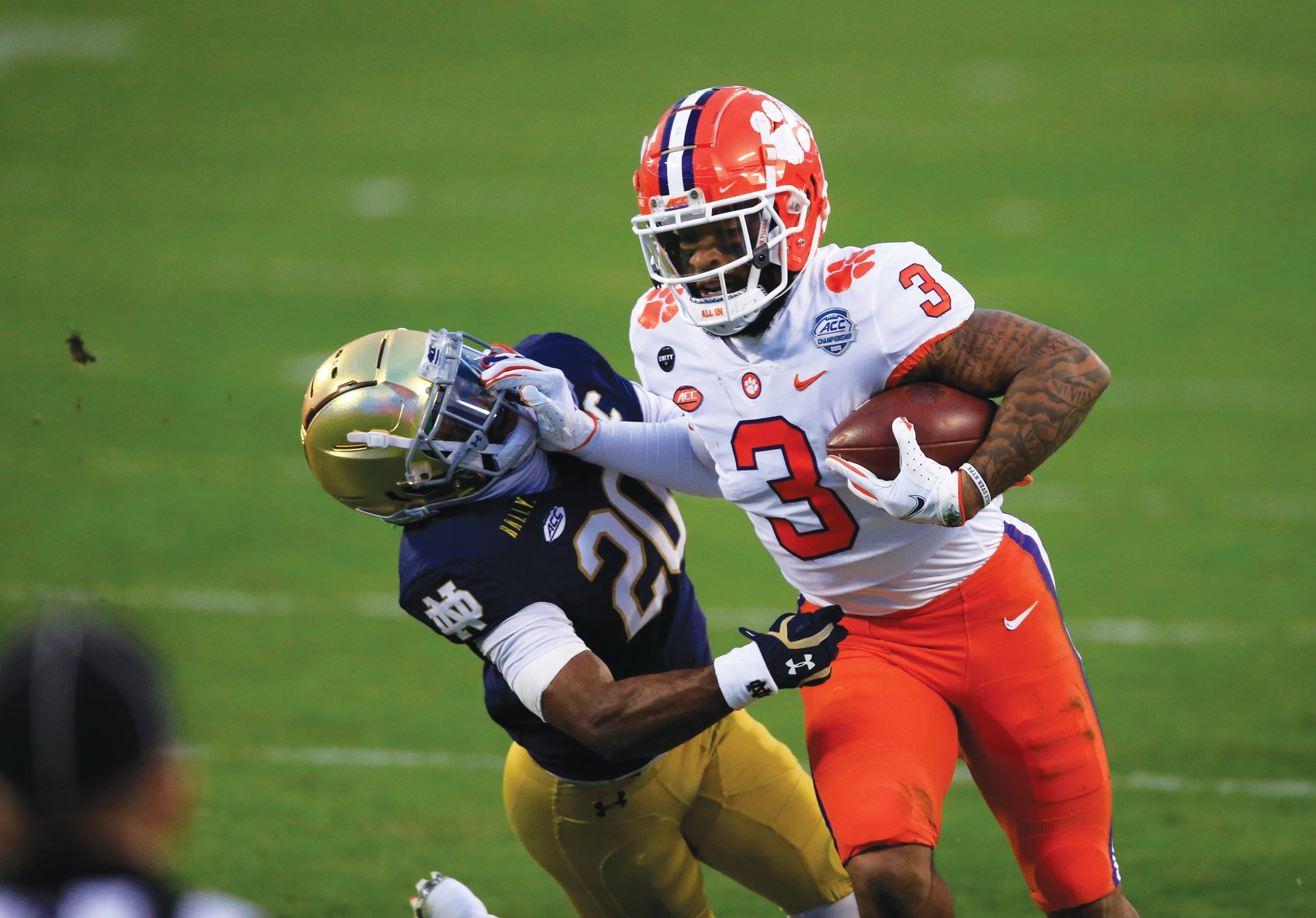 Clemson wide receiver Amari Rodgers (3) and the Tigers will face Ohio State in the Sugar Bowl on Friday.