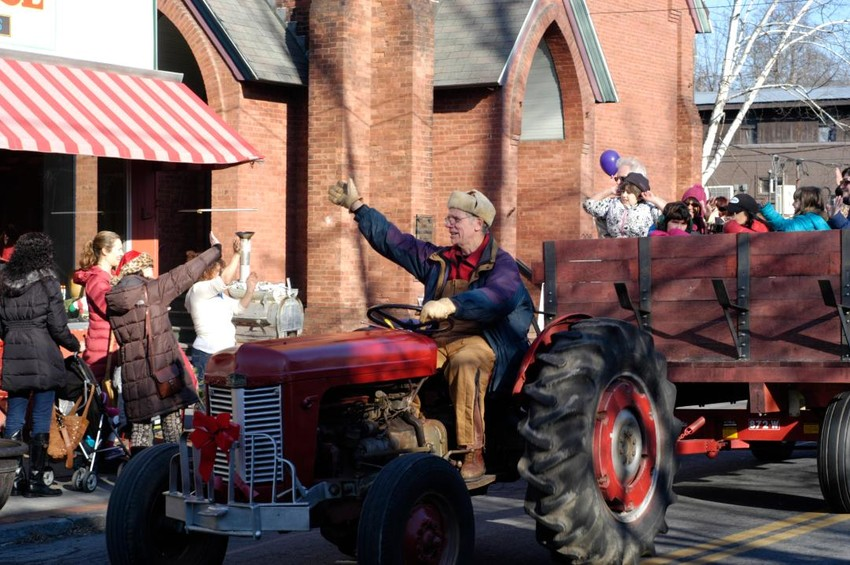 Frozendale continues to thrive and delight year after year, now in its 13th year. Pictured here is Bill Brooks of Rosendale driving the hayride at the 7th annual Frozendale Daze back in December of 2012.