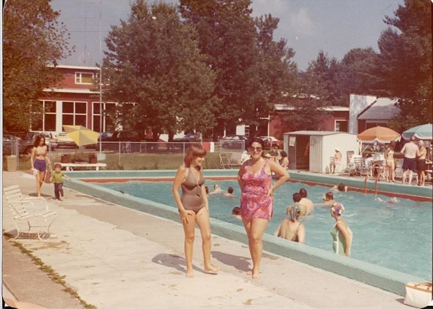 Brookside Hotel in Kerhonkson in the early 1970s.
