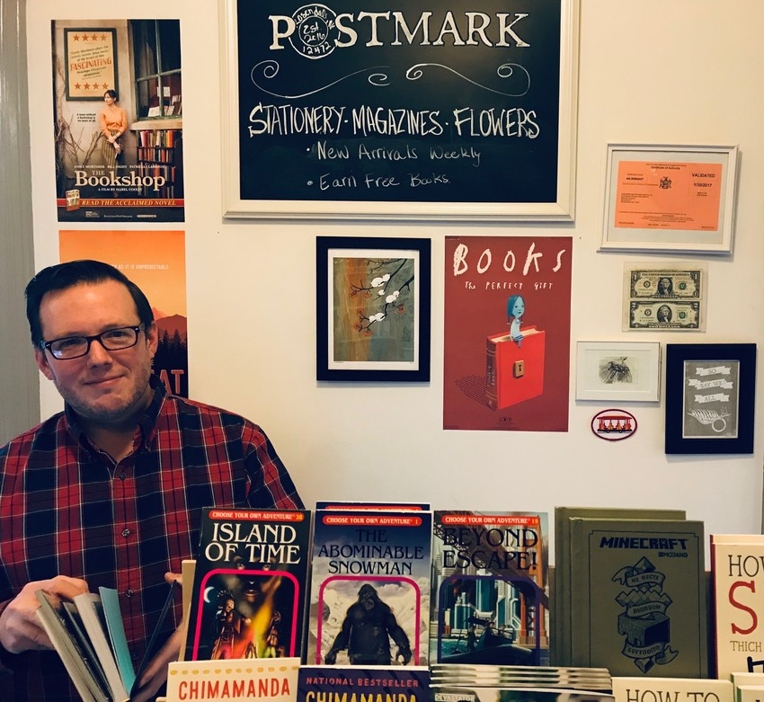 Jesse Post, Postmark books.