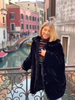 Lizzy Dimuccio in Italy