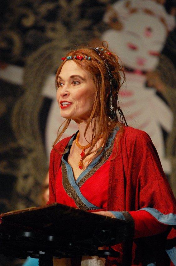 Joanna Rotté portraying Yeshe Tsogyal