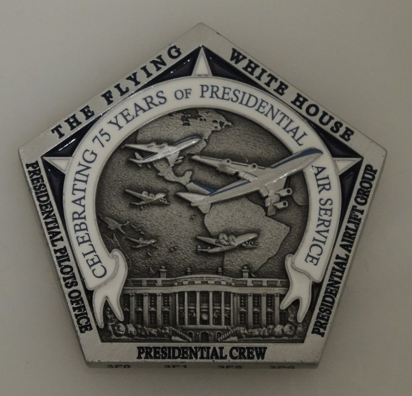 Air Force One 75th Anniversary Challenge Coin