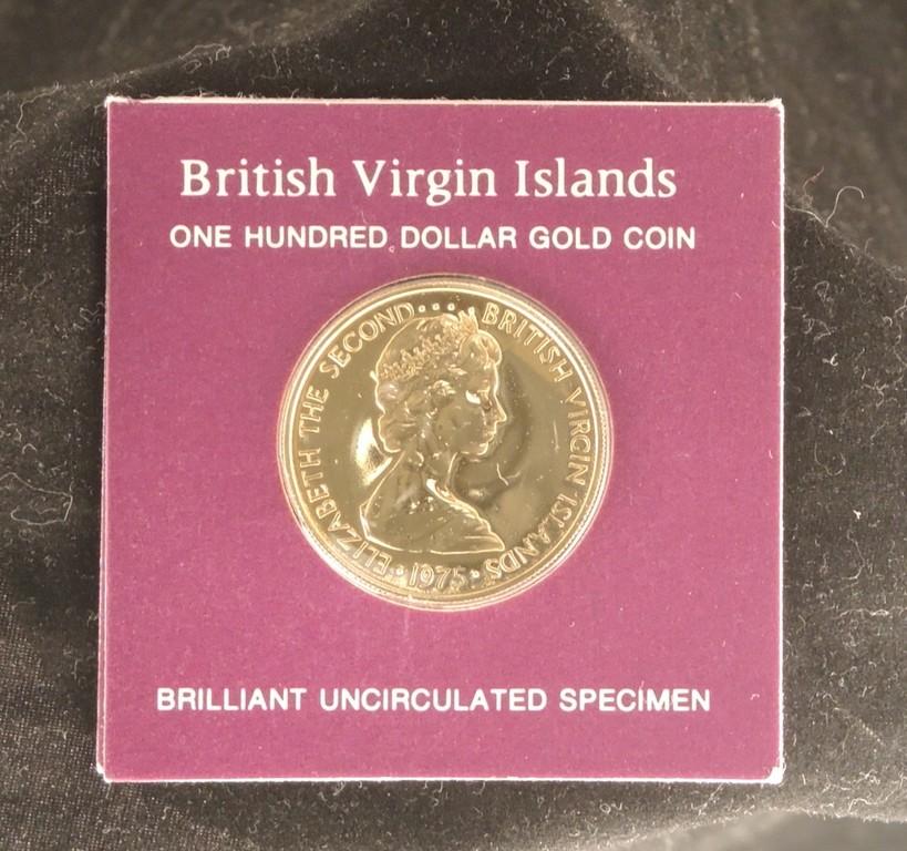 Virgin Islands  Dollar Gold Coin