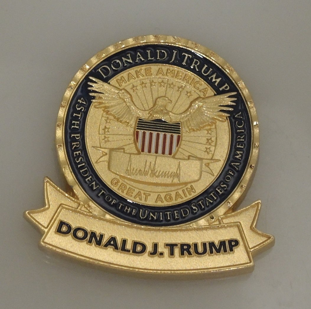 President Trump Challenge Coin | Capitol Coin & Stamp