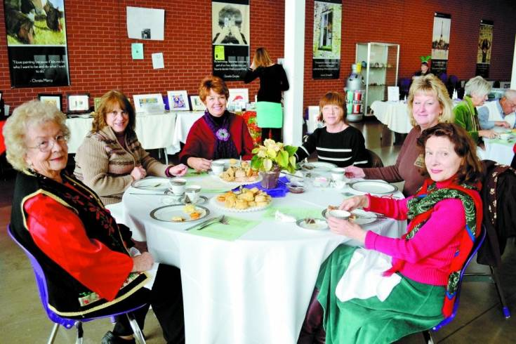 Both community members and Arvada West High School alum joined together for an afternoon of tea, cakes and entertainment at the first Arvada West High School Foundation Holiday Tea, Dec. 7.