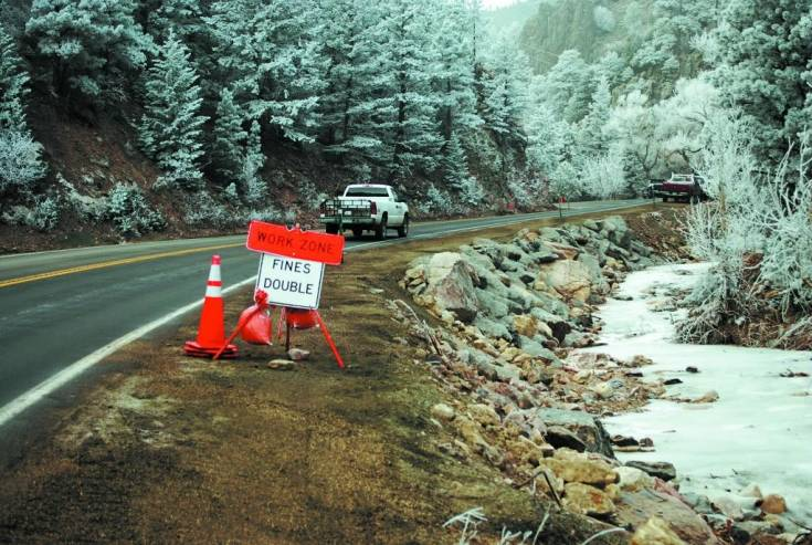 The repaired highway through Coal Creek Canyon opened ahead of the Dec. 1 schedule.