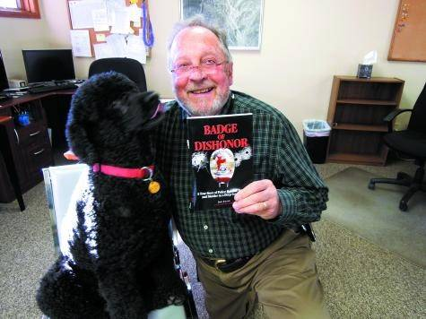 Jere Joiner, former reporter for the Courier, (and the Portuguese water dog Caesar), has just released a tell-all book about greed and corruption in Shreveport, La., where Joiner served in that city�s police department and witnessed the scandalous behavior of the Commissioner of Public Safety.