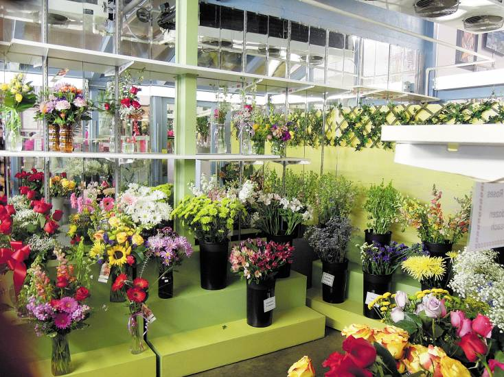 Artistic Flowers & Gifts will have three times its normal stock of flower arrangements already made for the expected busy Valentine's Day.
