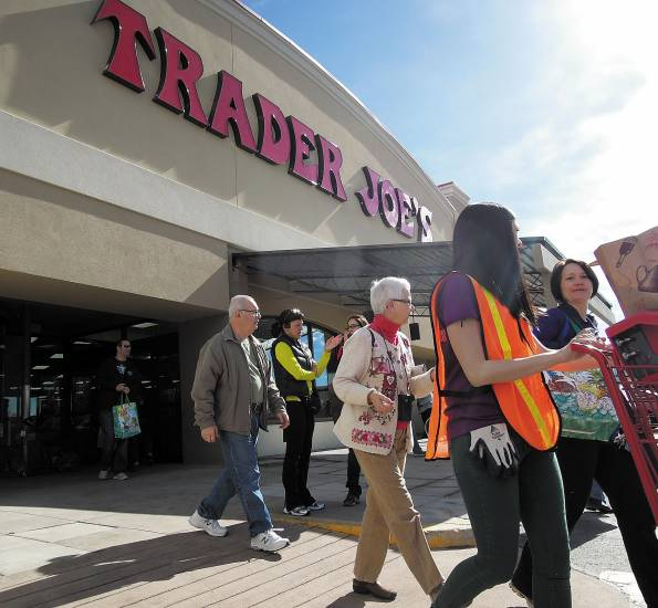 Grreenwood Village is home to one of the first three Trader Joe's to open in Colorado on Valentine's Day. Photo by George Lurie