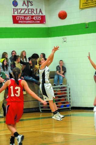 Junior guard Lexie Comer was among the top players for the Woodland Park girls� basketball team this season.