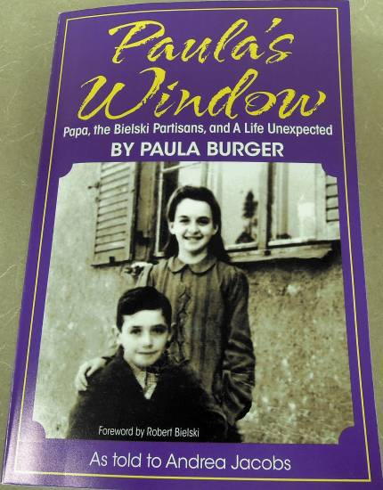 """Paula's Window"" by painter Paula Burger is the recently-published story of her holocaust experiences, her escape and subsequent life in America."