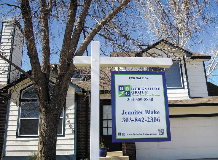 Houses in Douglas County are selling at a much quicker pace and at a higher price than in the first quarter of 2013. This Founders Village property in Castle Rock had four offers over list price the first day it hit the open market this April.