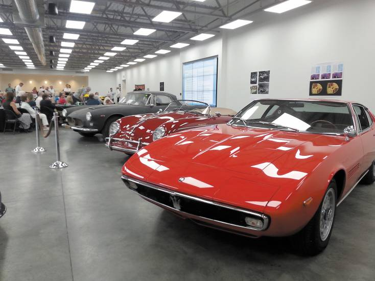 Those who attended the June 6 panel at Audi Denver got a sneak peek at what awaited them at Sunday's Colorado Concours d'Elegance and Exotic Sports Car Show at Arapahoe Community College. Photo by Jennifer Smith