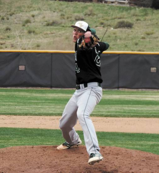 Nick Leonard, of Mountain Vista, is Colorado Community Media's South Metro Pitcher of the Year.