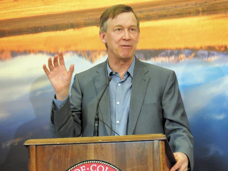 Gov. John Hickenlooper's recent comments on gun control have sparked a firestorm among county sheriffs and Republicans.