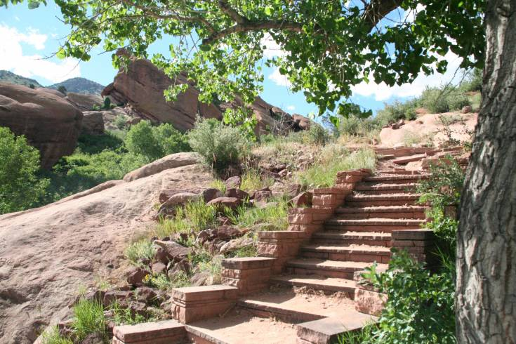 Red Rocks is not only one of America�s iconic venues but it is also a perfect just-outside-the-city hiking destination for families and even more advanced hikers.
