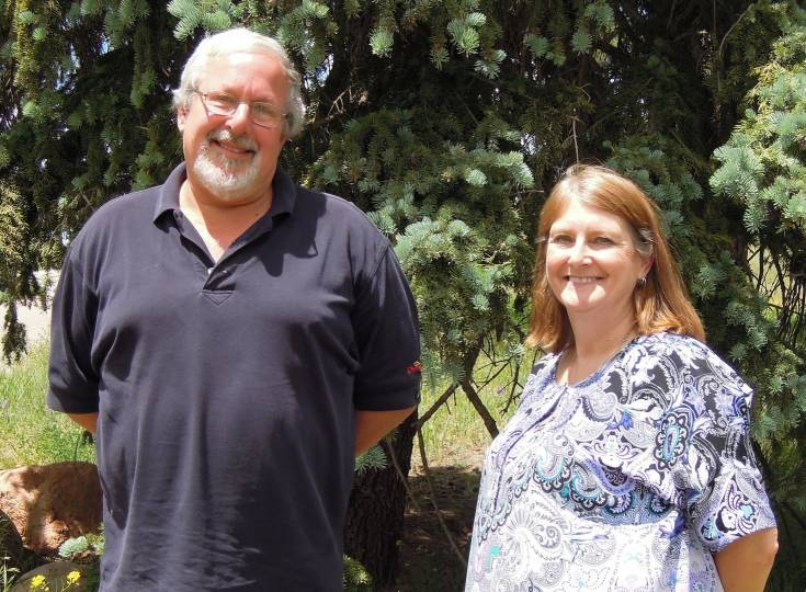 Tom Litherland and Penni Donatto, secretary and president, respectively, of the Franklin Ferguson Library District, have turned down the proposed contract from the RE-1 School District Board and have decided to move the library to another location in Cripple Creek.