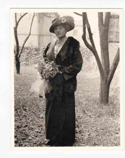 Pictured is Katherine Prescott Bemis, grandmother of Maya DeBus. DeBus will talk about her Bemis grandparents on July 29 at Bemis Library and Aug. 1 at Englewood Library.